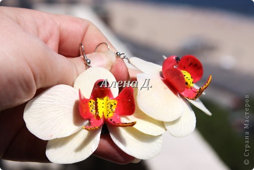 Привет всем! Вот такие типа орхидеи у меня слепились, сильно помидорами не бросайте...все таки кризис.......... фото 8