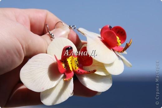 Привет всем! Вот такие типа орхидеи у меня слепились, сильно помидорами не бросайте...все таки кризис.......... фото 1