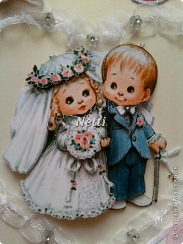 Моя открытка для знакомых ко Дню их свадьбы!!!  фото 3