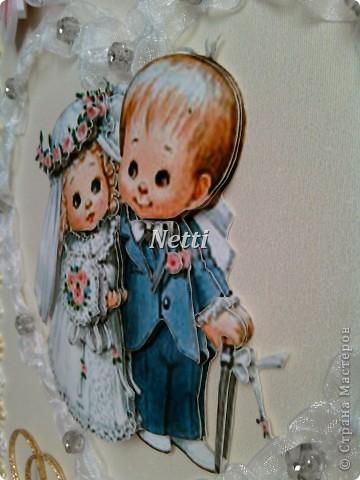Моя открытка для знакомых ко Дню их свадьбы!!!  фото 4