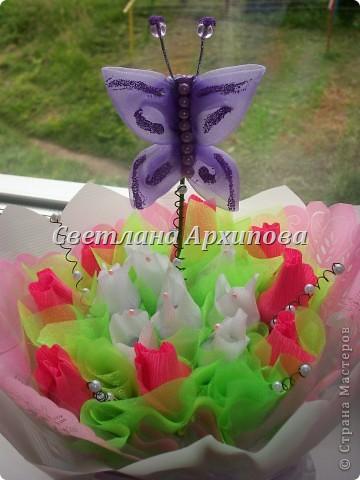 Бабочка самодельная,делала первый раз. фото 2