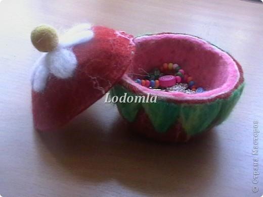 шкатулка-ягодка фото 1