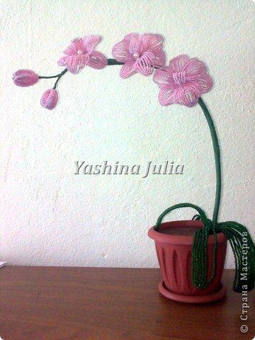 Захотелось сделать орхидею.  фото 1