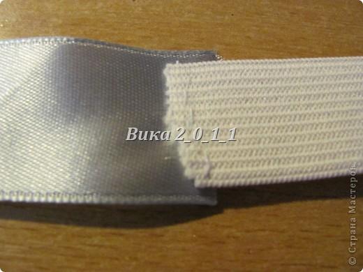 Предлагаю Вашему вниманию вот такую повязочку из ленты. фото 6