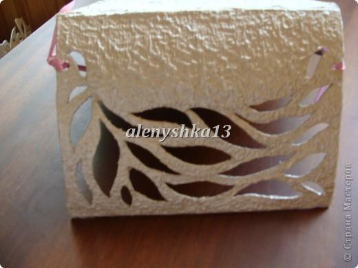 Коробочка для салфеток фото 5