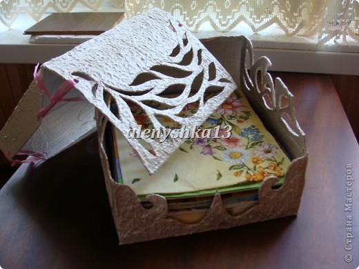 Коробочка для салфеток фото 6