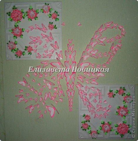 Бабочка украшение стены... фото 1