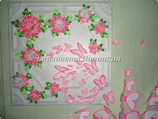 Бабочка украшение стены... фото 3