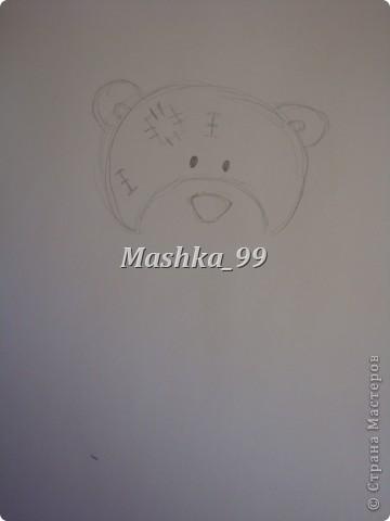 Вот такого мишу мы будем рисовать) фото 4