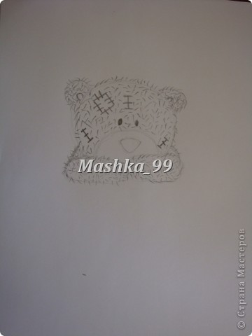 Вот такого мишу мы будем рисовать) фото 6
