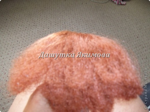 С начало причешите кукле волосы фото 1