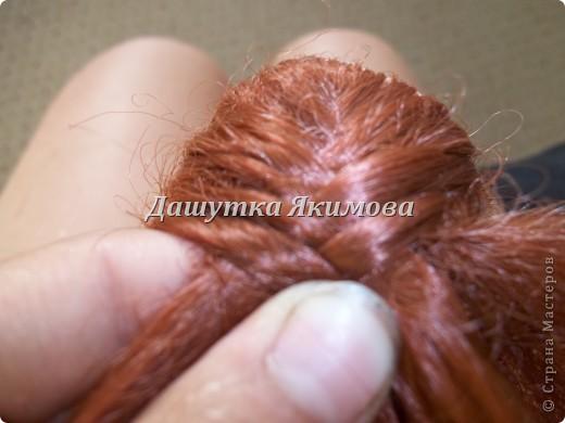 С начало причешите кукле волосы фото 4