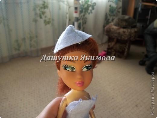 С начало причешите кукле волосы фото 12