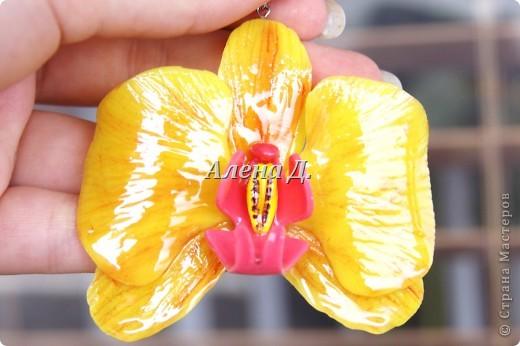 Привет девочки! Вот налепила немного орхидей, как вышло судите сами. фото 4