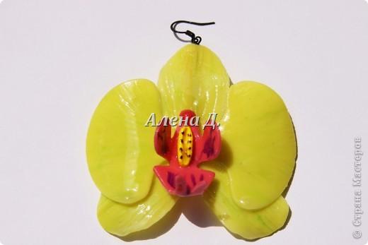 Привет девочки! Вот налепила немного орхидей, как вышло судите сами. фото 7