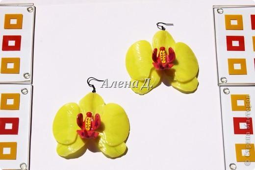 Привет девочки! Вот налепила немного орхидей, как вышло судите сами. фото 11