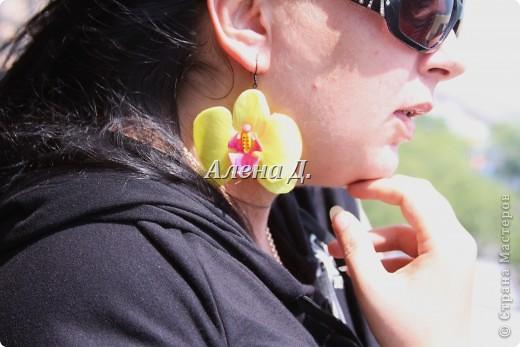 Привет девочки! Вот налепила немного орхидей, как вышло судите сами. фото 13