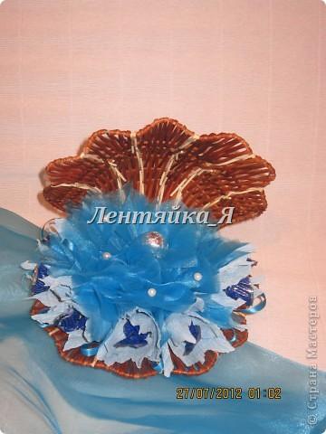 Подарок на жемчужную свадьбу)) попросили сделать ракушку с жемчужиной)) даже не знаю как получилось...судить вам... фото 1