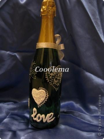 Всем привет!!! Заказали 5 (!!!) бутылок, декор весь разный, фоток много, извините :))) фото 1
