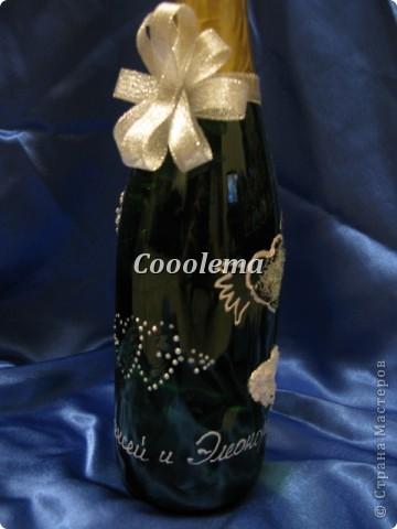 Всем привет!!! Заказали 5 (!!!) бутылок, декор весь разный, фоток много, извините :))) фото 2