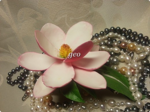Магнолия, это цветок который вызывает у меня особые чувства. Вот попытка его повторить. Запах магнолии сладость, терпкость, нежность, женственность. Надеюсь Вам понравиться!!! фото 4