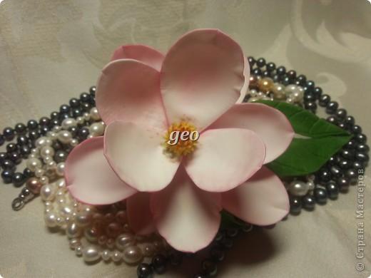 Магнолия, это цветок который вызывает у меня особые чувства. Вот попытка его повторить. Запах магнолии сладость, терпкость, нежность, женственность. Надеюсь Вам понравиться!!! фото 5