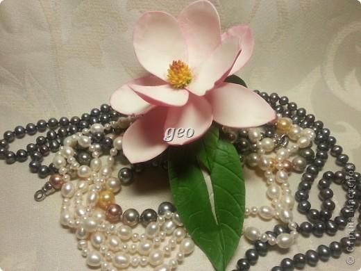 Магнолия, это цветок который вызывает у меня особые чувства. Вот попытка его повторить. Запах магнолии сладость, терпкость, нежность, женственность. Надеюсь Вам понравиться!!! фото 7