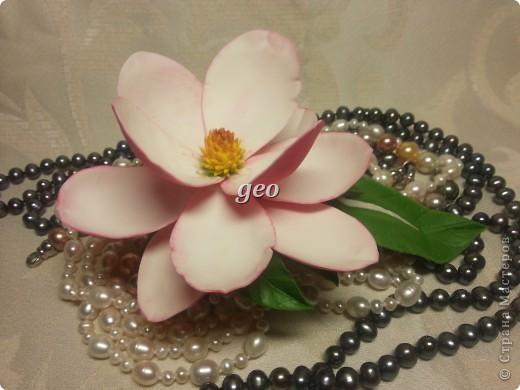 Магнолия, это цветок который вызывает у меня особые чувства. Вот попытка его повторить. Запах магнолии сладость, терпкость, нежность, женственность. Надеюсь Вам понравиться!!! фото 8