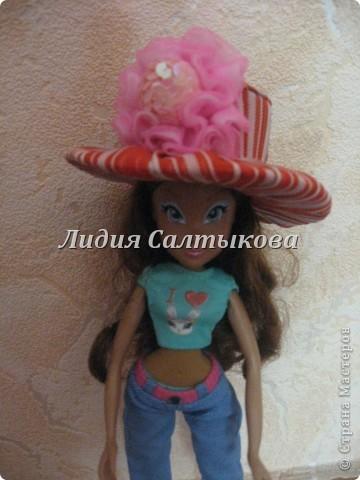 шляпка любимой куклы доченьки фото 1
