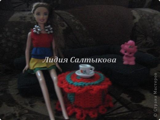 шляпка любимой куклы доченьки фото 8