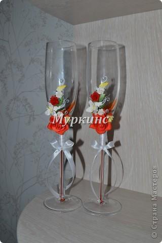 Вот такая красота получилась) в цвет моей красно-коралловой свадьбы! фото 2