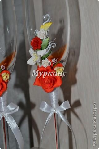 Вот такая красота получилась) в цвет моей красно-коралловой свадьбы! фото 3