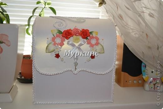 Вот такая красота получилась) в цвет моей красно-коралловой свадьбы! фото 6