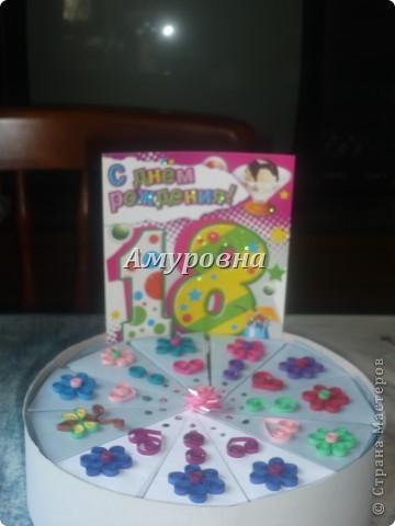 Вот такой тортик- сюрприз я сделала братишке на 18 лет))) фото 25