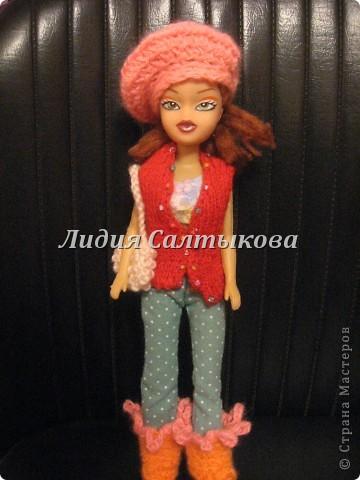 шляпка любимой куклы доченьки фото 14
