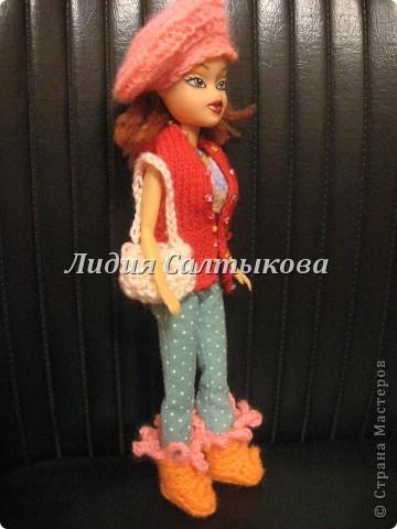 шляпка любимой куклы доченьки фото 15