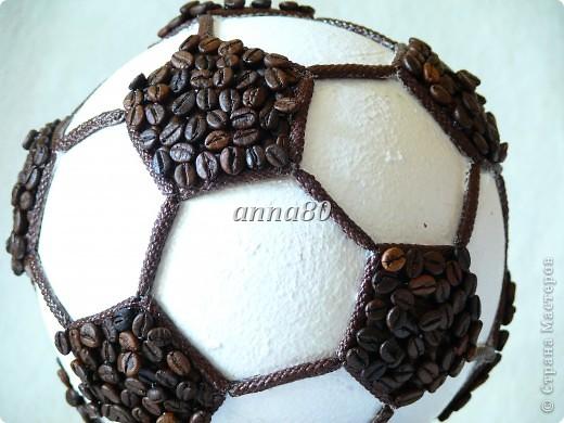 Футбольный мяч-кофейный. Повторяшка))) фото 2