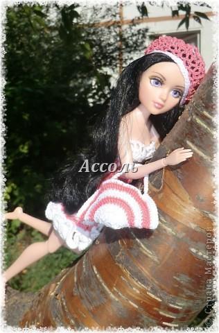 Привет, Страна! Моя Марго - девушка, следящая за модными тенденциями. Поэтому в ее гардеробе появился такой комплект в актуальных  кораллово-белых тонах... фото 5
