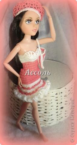 Привет, Страна! Моя Марго - девушка, следящая за модными тенденциями. Поэтому в ее гардеробе появился такой комплект в актуальных  кораллово-белых тонах... фото 2