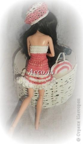 Привет, Страна! Моя Марго - девушка, следящая за модными тенденциями. Поэтому в ее гардеробе появился такой комплект в актуальных  кораллово-белых тонах... фото 3