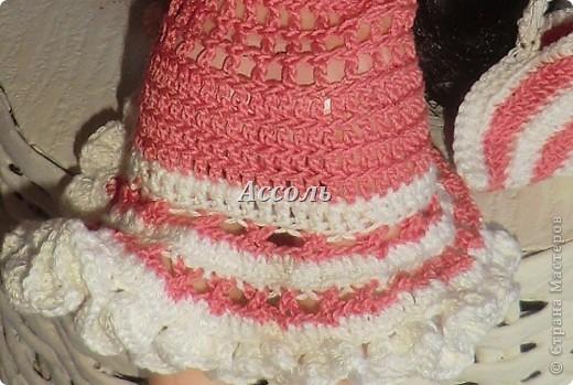 Привет, Страна! Моя Марго - девушка, следящая за модными тенденциями. Поэтому в ее гардеробе появился такой комплект в актуальных  кораллово-белых тонах... фото 4