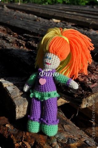 Здравствуйте. :) Наконец-то я перефотографировала своих девочек и могу теперь вам их показать :) Эта куколка, похоже, нашла себе новую хозяйку (не успела выставить, как ее у меня заказали).. фото 42