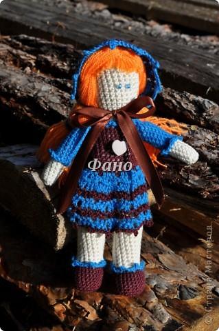 Здравствуйте. :) Наконец-то я перефотографировала своих девочек и могу теперь вам их показать :) Эта куколка, похоже, нашла себе новую хозяйку (не успела выставить, как ее у меня заказали).. фото 6