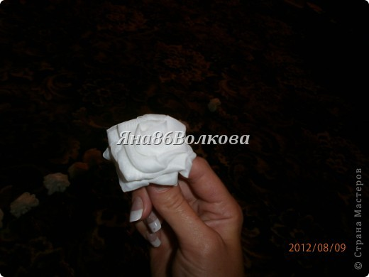 Вот каой букетик для невесты у меня получился. фото 2
