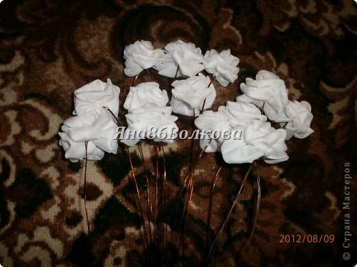 Вот каой букетик для невесты у меня получился. фото 3
