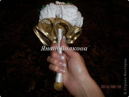Вот каой букетик для невесты у меня получился. фото 5