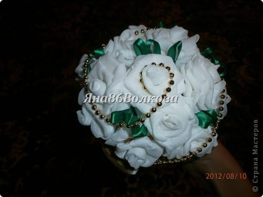 Вот каой букетик для невесты у меня получился. фото 6