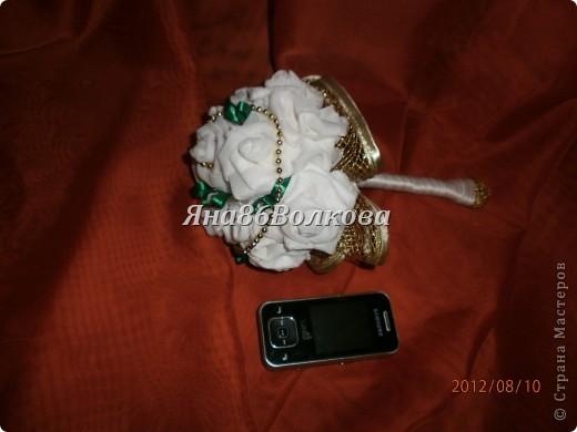 Вот каой букетик для невесты у меня получился. фото 7