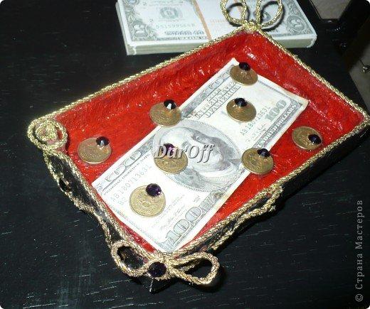 Рог изобилия - шкатулка для денег фото 5