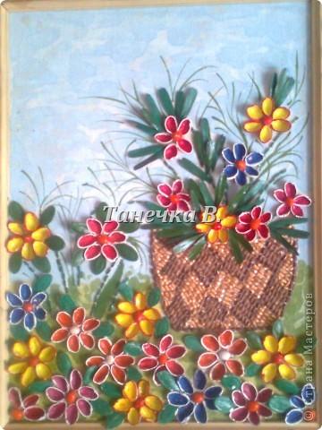 Галявина з квітами